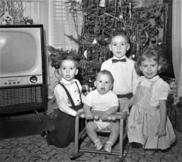 Brown Children 1957