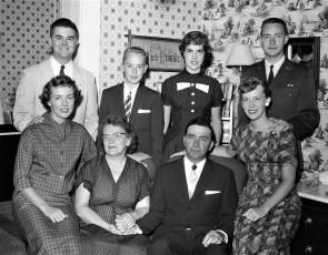 Feller Family Glenco Mills 1957