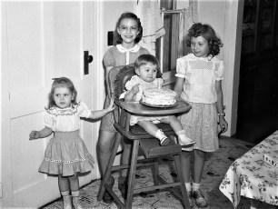 Gail Decker's 1st Birthday 19XX
