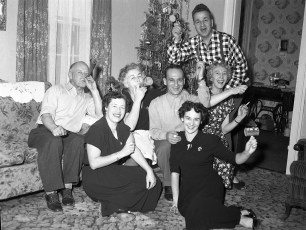 Gibson New Years Eve 1953 - 54 (2)