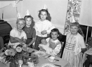 Joyce Lasher Bates Birthday Party 1957