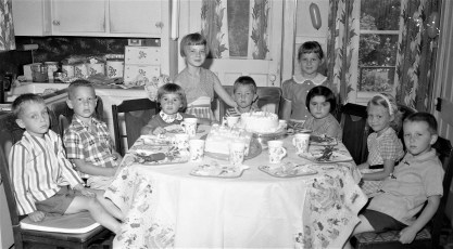 Kevin McLean's Birthday Party 1956