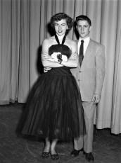 Mary Barbour & date Senior Dance GCS 1952