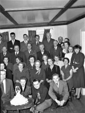 Mr & Mrs Otis Denegar Silver Wedding Ann. 1951 (1)