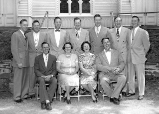 Mrs. David Rhudy's Family reunion G'town 1955 (3)