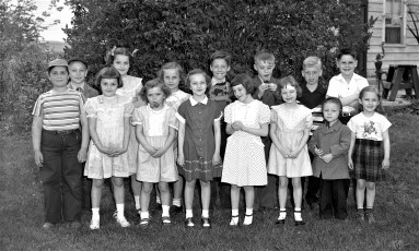 Robert Gibson's 9th Birthday Party 1950