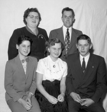 The Banks Family 1956