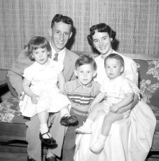 The Gunther Family 1958