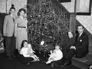 von der Osten Family Xmas 1952