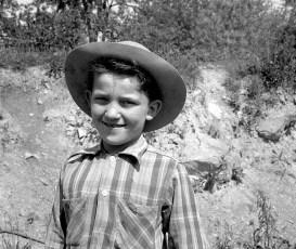 Possibly George Nahlik in hat