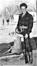 John Gunther G'town opening day buck 1961 (2)