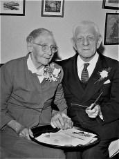 Mr. & Mrs. Fred Sodderberg 50th Wedding Anniv. 1968