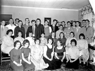 Nancy Yadack's Birthday 1960