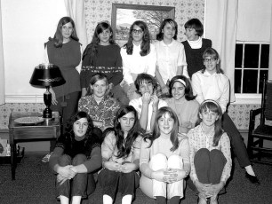 Party at Holly Brown's G'town 1969