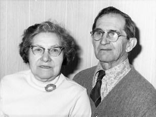 August & Helen Schiedt 1976