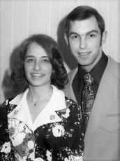Jim & Shelley Lewis 1975