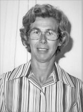 Joan Sharpe 1977