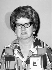 Mary Huber 1972