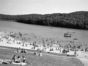 Lake Taghkanic 1953 (2)