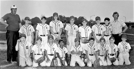 Clermont G'town Little League County Team 1974