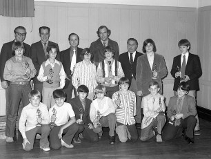 Elk's LL Awards Banquet with NY Yankee Mike Kekich 1972 (12)