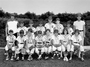 Germantown Little League G'town Giants 1975