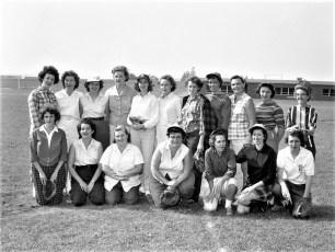G'town L.L. Mothers Team vs All Stars 1960