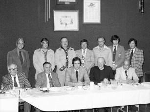 Hudson Elk's Little League Awards Dinner 1976 (1)
