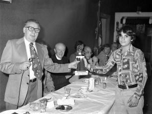 Hudson Elk's Little League Awards Dinner 1976 (3)