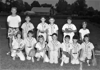 Little League Team G'town Coach Paul Hoffman 1975