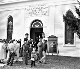 Christ's Lutheran Church 250th Anniversary Viewmont 1960