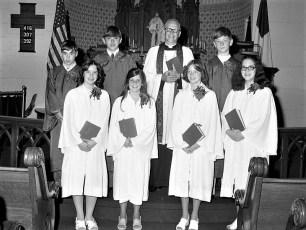 Christ's Lutheran Church Confirmation Viewmont 1976