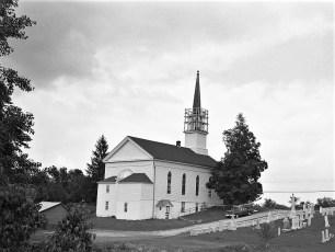 Christ's Lutheran Church steeple repair Viewmont 1977