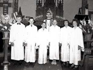 Lutheran Church Palm Sunday 1947