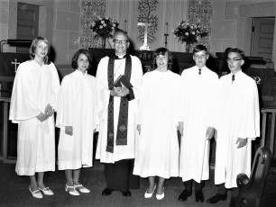 St. John's Lutheran Church Confirmation 1968