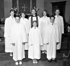 St. John's Lutheran Church Confirmation Manorton 1957