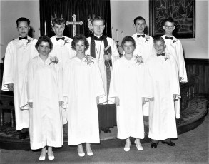 St. Paul's Lutheran Church Confirmation Red Hook 1961