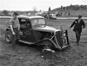 Mellenville Stock Car Races 1950