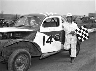 Mellenville Stock Car Races Zeke Meltz 1950