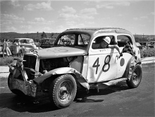 Stock Cars Mellenville NY 1951 (14)