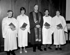 Methodist Church new members G'town 1964