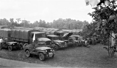 N.Y. National Guard Hudson Battalion joint exercises with 106th from Brooklyn 1954 (1)