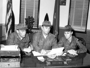 NYS National Guard Ray Snyder, Capt. Robert Fingar, Gary Lewis 1968