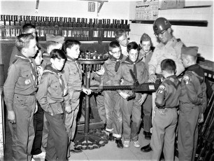National Guard Boy Scout tour 1960
