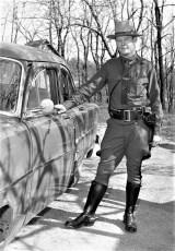 NYS Trooper Dogan Catskill Station 1954