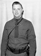 NYS Trooper P. Rizzuto Claverack 1954