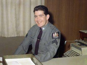 NYS Trooper Sergeant McHugh 1968