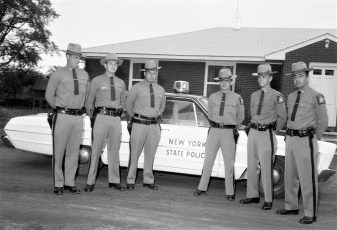 NYS Troopers Claverack 1965
