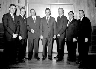 Police Benevolence Asso. (P.B.A.) Banquet at Kozals 1964 (1)