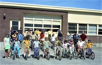 4H Testing Bikes at Ockawamick School 1972 (1)